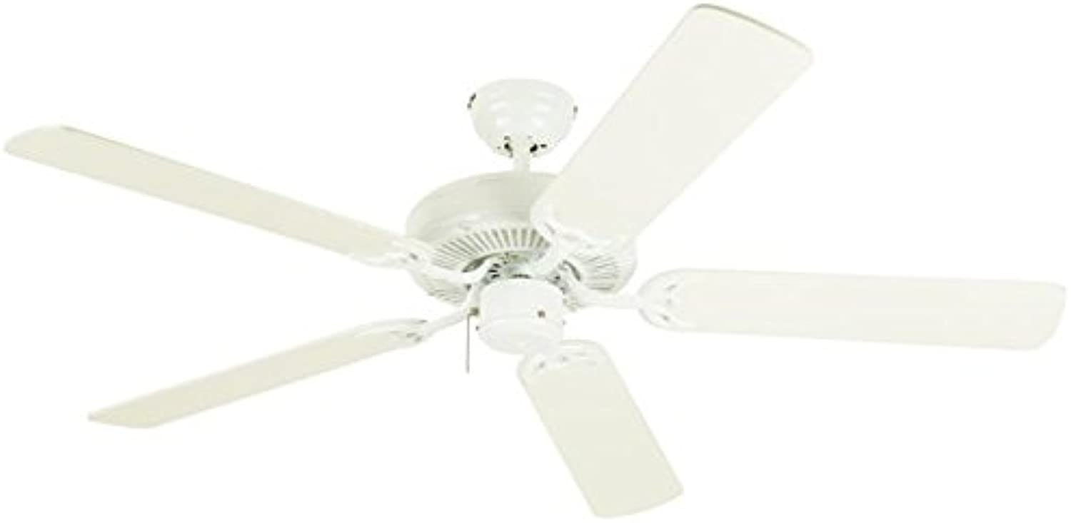 Westinghouse Contractor's Choice 52-Inch Five-Blade Indoor Ceiling Fan Antique White