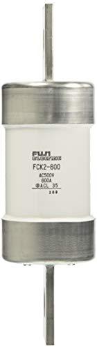 富士電機機器制御 筒形ヒューズ 刃形端子 600A FCK2-600