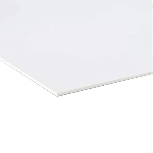 Pannello Lastra Forex pvc bianco spessore 3 mm 100x100 cm bianco forex bianco pvc bianco