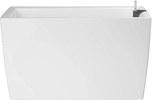 Artevasi Jardinera, Blanco, 30.5x76x45 cm, Marbella Auto 76 cm