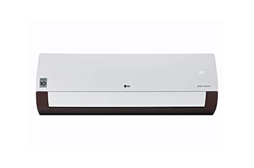 LG Convertible 4-in-1 Cooling, ThinQ Wi-Fi, Voice Control 1.5 TR 5 Star Inverter Split AC (Copper,...