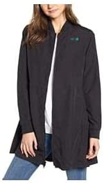 The North Face Women's Flybae Water Resistant Bomber Jacket, Size Small - Black
