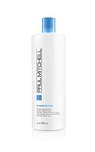 Paul Mitchell Shampoo Two - Clarifying Shampoo reinigt fettiges Haar und fettige Kopfhaut, Tiefenreinigung für die Haare in Salon-Qualität, 1000 ml