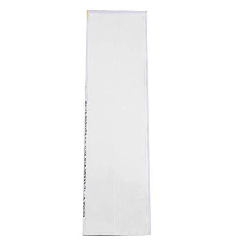 Pegatina de Tiro Con Arco,12PCS Archery Arrow Sticker Universal Pegatina de Etiqueta de Flecha de Tiro con Arco Autoadhesivo Envolturas de Flecha de Eje Caza de Bricolaje Haciendo Accesorio(Blanco)