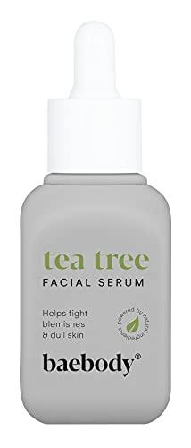 Baebody Tea Tree Oil Super Serum with Retinol, Vitamin C, Rosehip Oil & Niacinamide, 1 Ounce