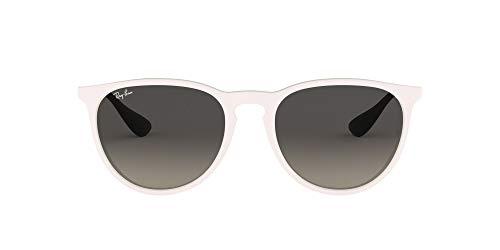 Ray-Ban 4171 Gafas de sol, Blanco/Oro/Gris Degradada (White/Gold/Grey Gradient), 54 Unisex-Adulto