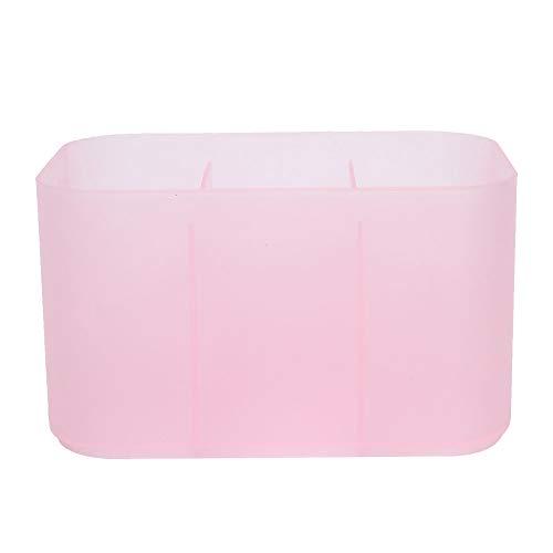 OhhGo Caja de almacenamiento para uñas con 6 rejillas para herramientas de manicura de maquillaje