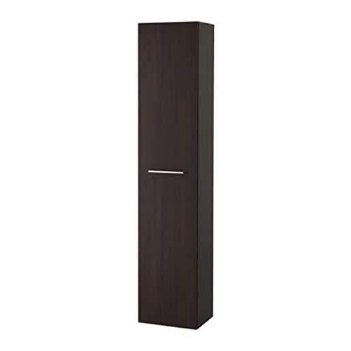 IKEA Godmorgon Hochschrank schwarzbraun 703.440.61 Größe 15 3/4x12 5/8x75 5/8
