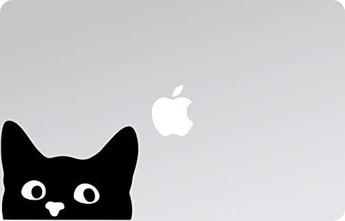 Adesivo - Sticker - PC - CASCHI - Auto - Moto - MOBILI - Gatti - Gattini - Micio, Decal Laptop, Adesivi per Laptop, MacBook Decalcomania, Laptop Stick