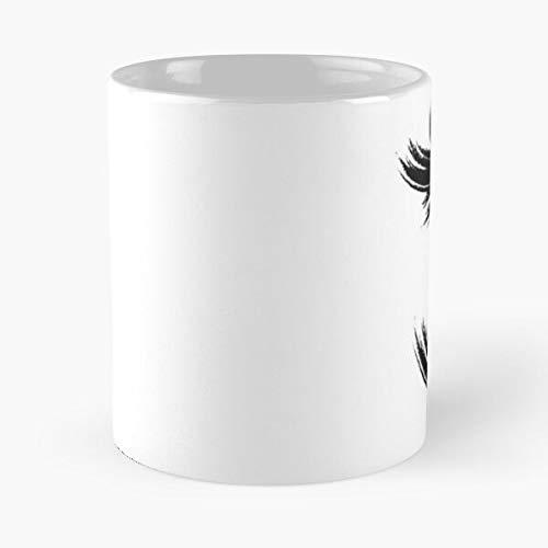 Ithird Eye Chakra Symbol Black Classic Mug - 11 Ounces Funny Coffee Gag Gift.the Best Gift For Holidays.