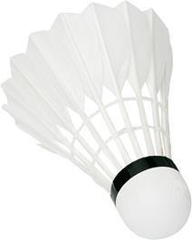 Badminton Bälle PROFESSIONAL Naturfeder Slow 3 Stück Papierdose