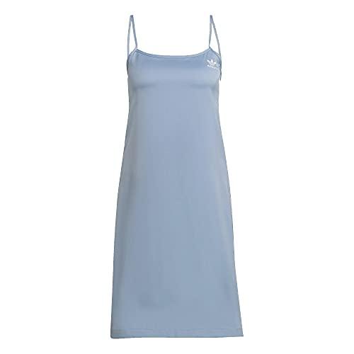 adidas Vestido sin mangas. azul Skyblue 34