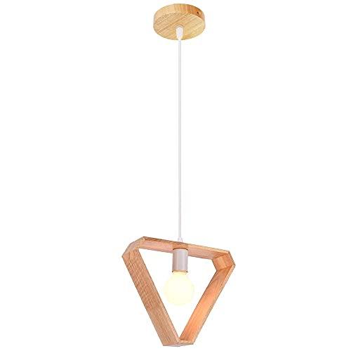 Chandelier de granja Moderno diseño de polígonos de lámpara colgante misteriosa artesanía colgante altura de altura ajustable E27 Swing Swag Swag Lámpara de suspensión generosa Aparta para comedor Res