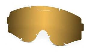 Oakley Lexan Lens Single Gold Lentes de reemplazo para gafas de sol, Multicolor, 0 Unisex Adulto