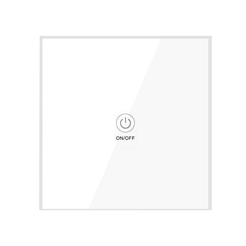 Interruptor de Control Remoto Inteligente WiFi, Interruptor Inteligente multifunción con 3 Modos de Trabajo (Jog, autoblocante, Enclavamiento)