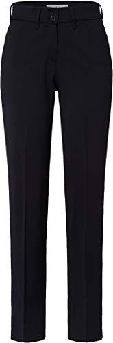 BRAX Celine Clean Wool Flatfront Feminine Fit Klassisch Pantaloni, Blu (Navy 22), 48 (Taglia Produttore: 42) Donna