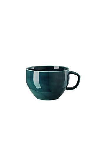Rosenthal - Junto - Ocean Blue - Cafe au Lait Obertasse - Porzellan - 0,4 l