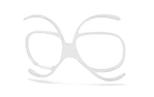 OPTIKADAPTER, Sehstärken-Clip, Universal Korrektur-Clip für Goggles bzw. Korbbrillen | Z.B. für: Motocross-Brille | Offroad-Brillen | Skibrillen | MX-Brille | Motorradbrille | Ballistic Brille