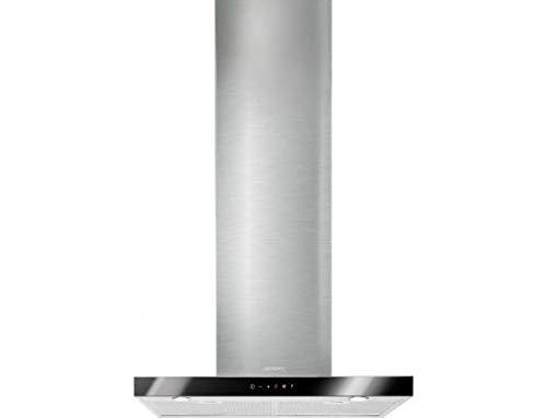 Smeg KS605NXE2 Wandmontage, schwarz, Edelstahl 777m3/h B Dunstabzugshaube - Dunstabzugshauben (777 m3/h, Conduit, B, A, C, 63 dB)