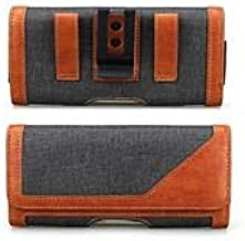 SmartLike Brown Magnetic Holster Belt Pouch for Infinix Zero 5 Pro