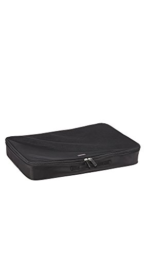 TUMI Travel Accessories Extra Large Packing Luggage Organizer Cubes, Black, One Size