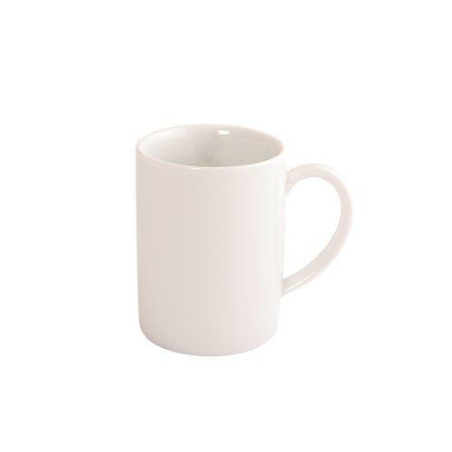 Fairmont & Main Arctic - Tazas de Desayuno (4 Unidades, cerámica vidriada), Color Blanco