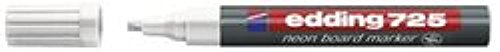 Neon Boardmarker 725 neonweiss Keilspitze 2-5mm