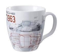 Unbekannt Porsche 901 Legends of 1963 Limited Edition WAP0500930H Tasse, Sammler Kaffeetasse aus Porzellan, Kaffeebecher 370 g, Drivers Selection