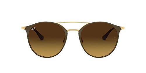Luxottica S.p.A. Ray-Ban MOD. 3546 Ray-Ban Sonnenbrille MOD. 3546 Rund Sonnenbrille 49, Braun