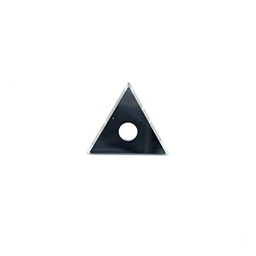 Ersatzklinge 25mm für Farbschaber, Dreieckklinge (für Bahco, Sandvik, Storch, Techno.) (1 Ersatzklinge)