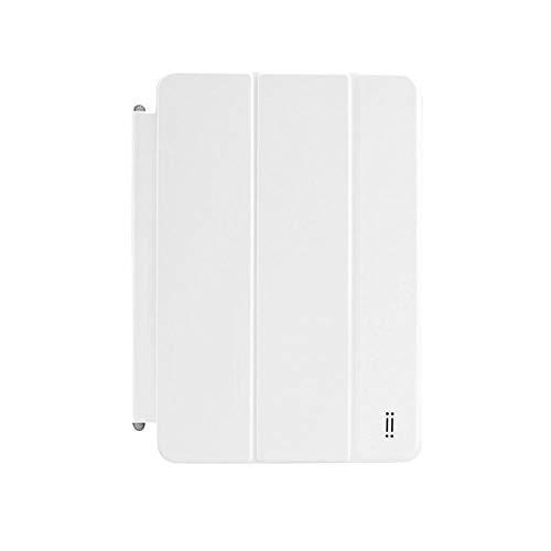 Aiino Custodia Pieghevole Rigida Cover Case a Libro Combo Accessorio per Tablet Pc iPad mini, iPad mini 2, iPad mini 3, Bianco