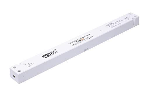 Kingled - Actec LT-150-24 Alimentatore 150W DC 24V Ultra Slim Lineare Idoneo Installazione su Legno e Cartongesso per Strisce Led