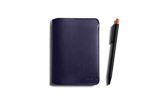Bellroy Notebook Cover Mini und Notetaker Pen Kombo (Klein Notizbuch, 4-6 Karten, Kugelschreiber) - Navy