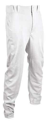Tag Jugend Baseball Hose mit Gürtelschlaufen (Elastic Hose), Jungen, weiß, Large