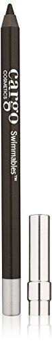 Palladio Retractable Waterproof Eyeliner, Black Brown