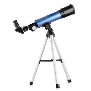 TELMU Telescopio para Niños – Apertura 50 mm y Longitud Focal 360 mm telescopio Astronómico