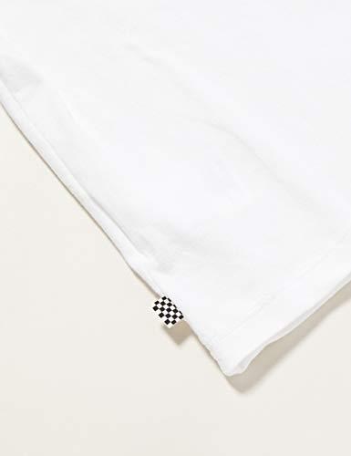 Vans Split Leopard T-Shirt, Bianco, M Bambina