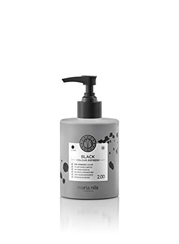 Maria Nila Colour Refresh - Black 300ml | Eine revolutionäre Farbmaske zur Auffrischung und Intensivierung der Haarfarbe