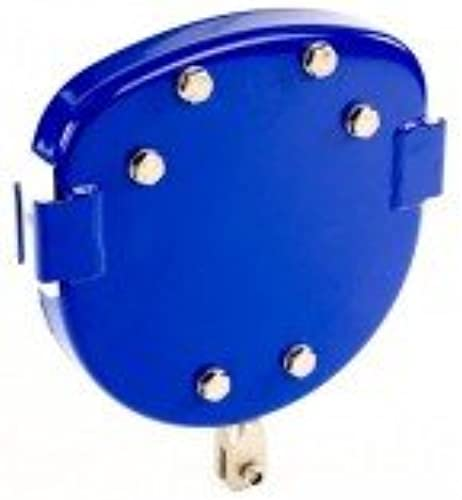 Klingl Spielger  Laufkatze für Seilbahn - blau - runde Form-  entlich DIN EN 1176