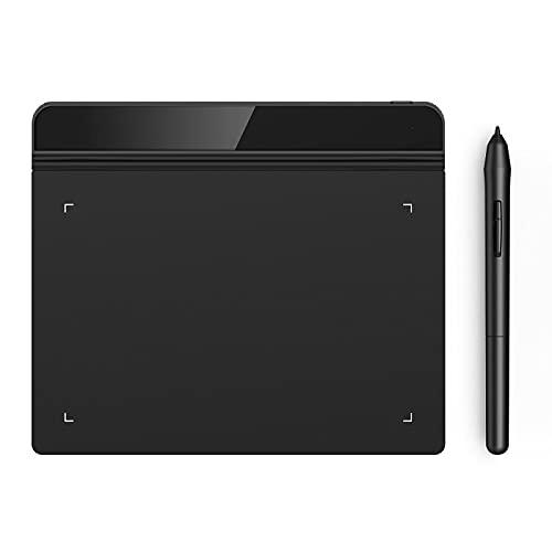 Xyfw Tableta Gráfica Tableta Digital Dibujo para OSU Y Dibujo 8192 Niveles Presión Arte Reunión Educativa En Línea