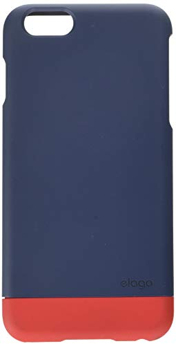 iPhone 6 Plus Case, elago [Glide Limited-Edition][Jean Indigo/Extreme Red] - [Mix and Match][Premium Armor][True Fit] - for iPhone 6 Plus Only