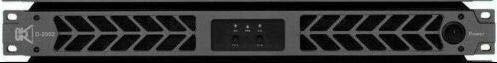 Read About CVR D-2002 Series Professional Power Amplifier 1U 2000 Watts x 2 at 8Ω BLACK.