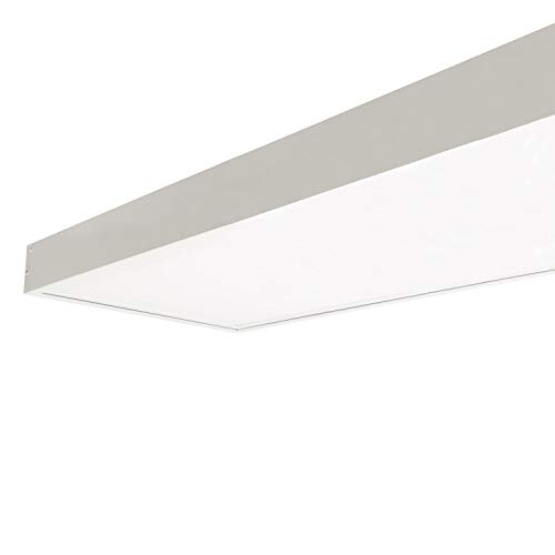 LEDKIA LIGHTING Kit di Superficie Pannelli 120x30cm Bianco