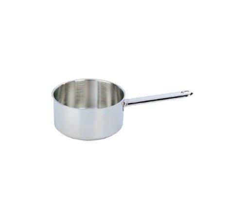 DEMEYERE Saucepan 14 cm Single Pan – Frying pans (Single Pan, Silver, Metal, 14 cm)