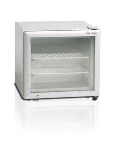 TEFCOLD Tiefkühlschrank TEF VF50 G mit Glastür (50 Liter)