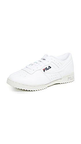 Fila Men's Original Fitness Ripple Sneakers, White, 12 M US