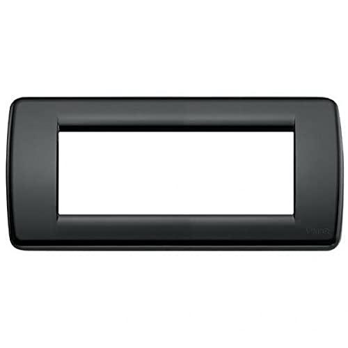 Vimar Serie Idea - Placca Ronda 5 Moduli Nero