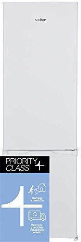 Sauber - Frigorífico Combi SERIE 3-176B - Eficiencia energética: A+ - 176x55,5 cm - ENTREGA EN DOMICILIO