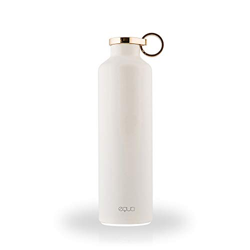 EQUA Smart Water Bottle - 23 oz - Bluetooth Water Intake Tracking with Light Up Reminders -...