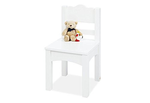 Pinolino 201411 Chaise pour enfant 'Martha', blanc